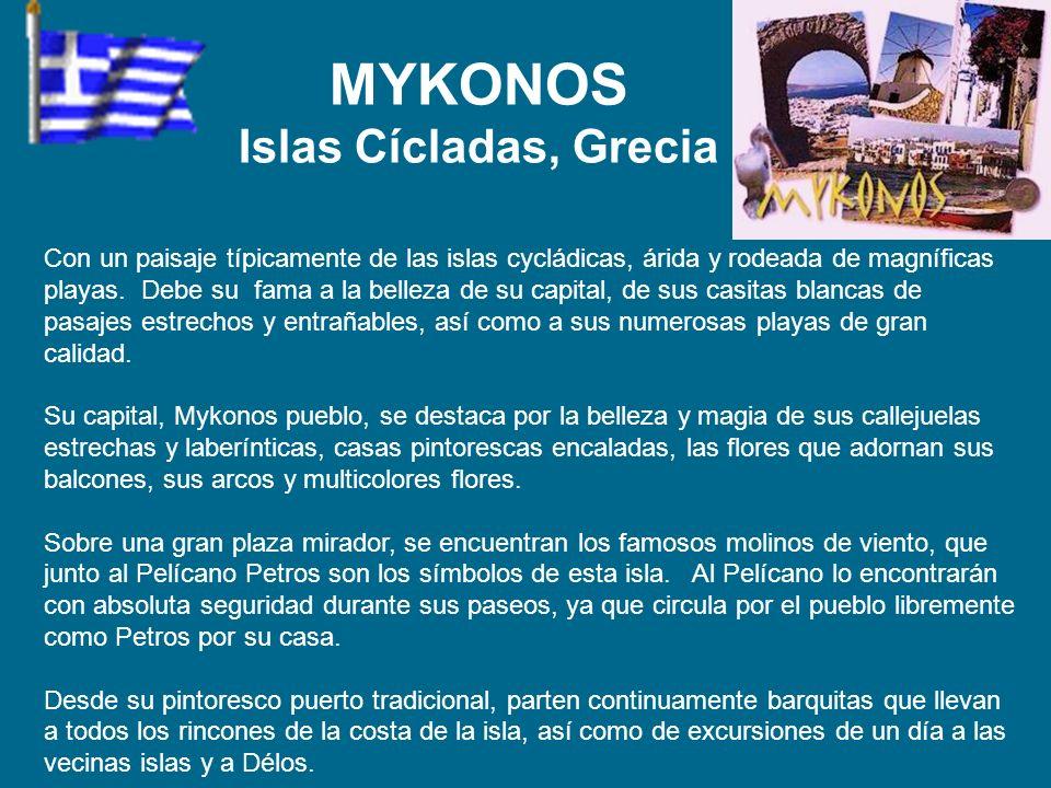 MYKONOS Islas Cícladas, Grecia