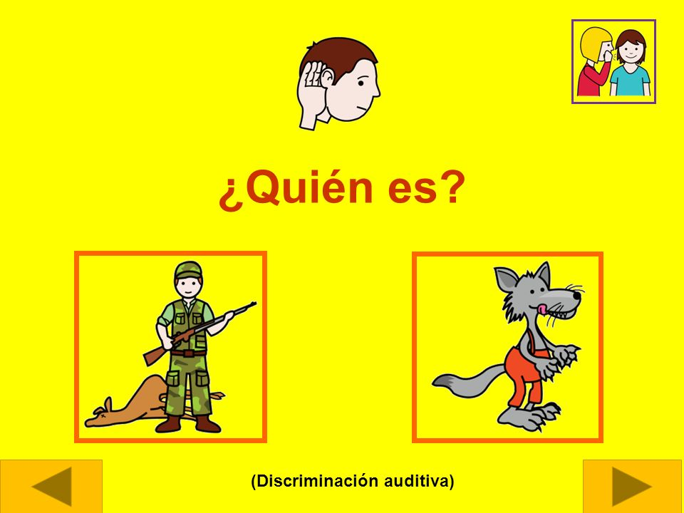 (Discriminación auditiva)