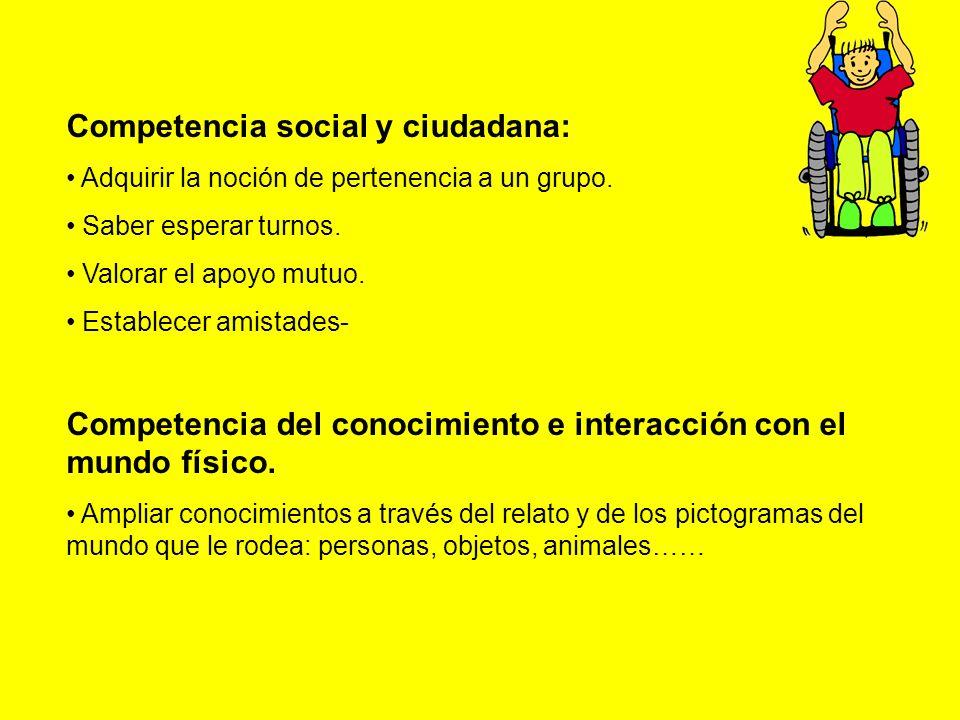 Competencia social y ciudadana: