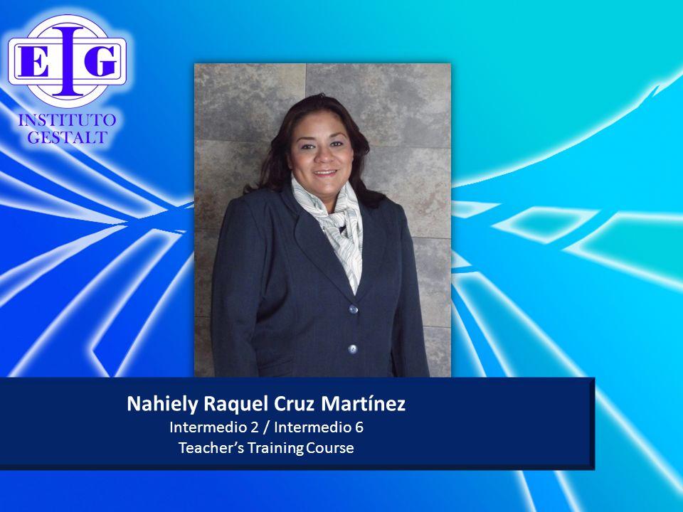 Nahiely Raquel Cruz Martínez