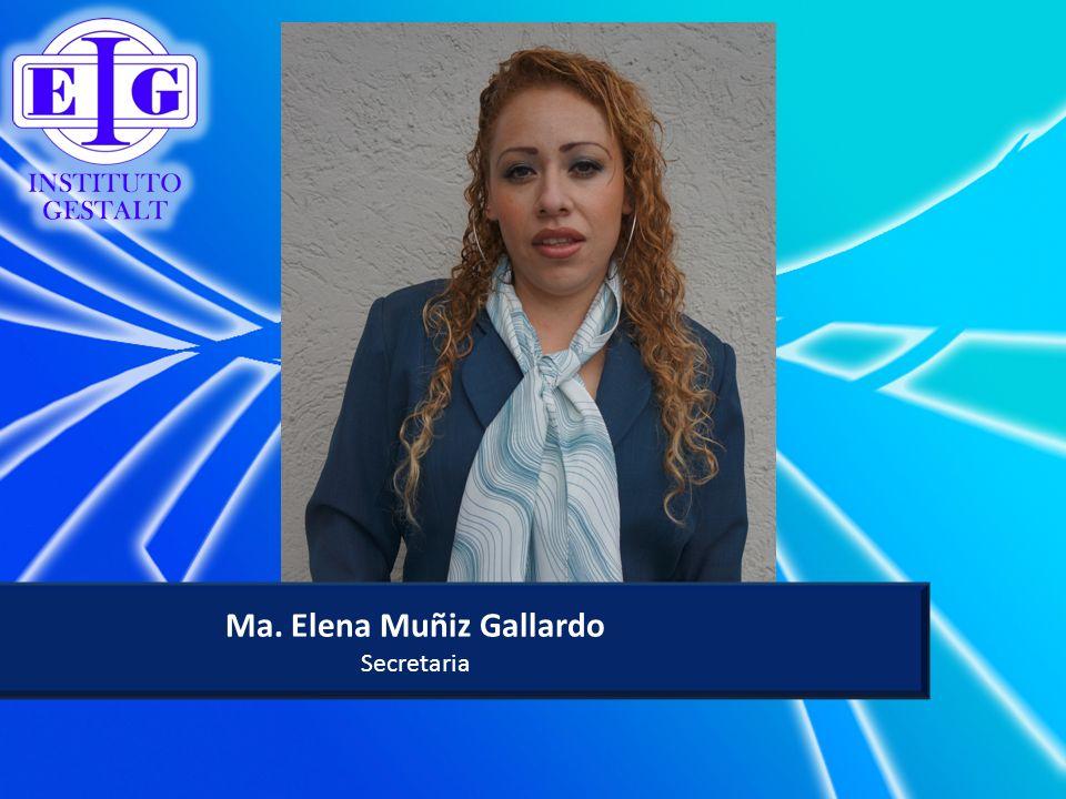 Ma. Elena Muñiz Gallardo