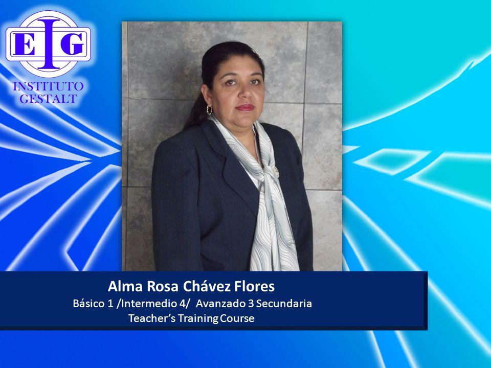 Alma Rosa Chávez Flores