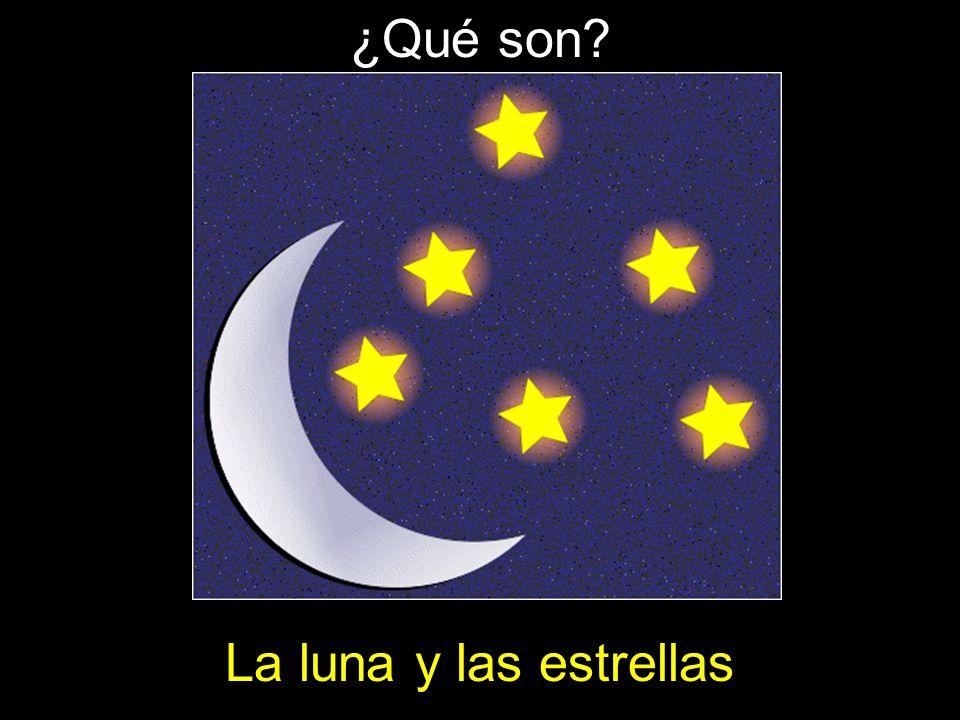 ¿Qué son La luna y las estrellas
