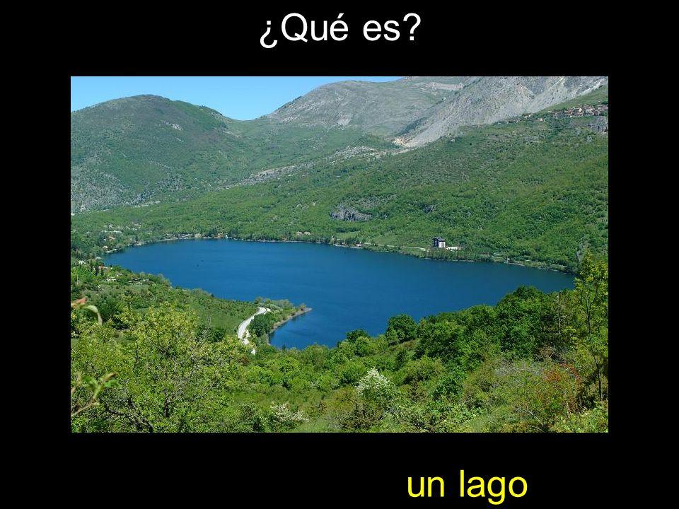 ¿Qué es un lago