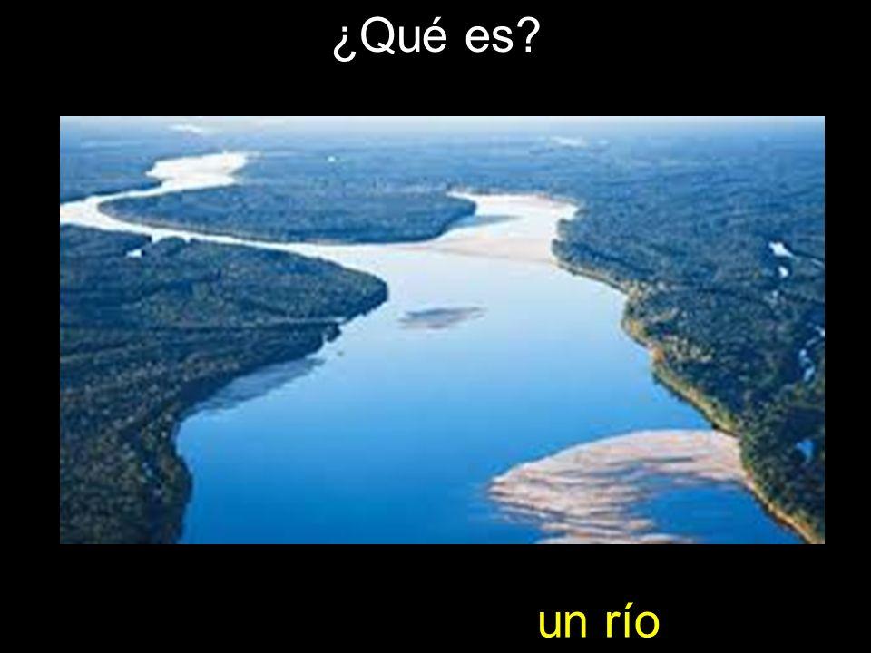 ¿Qué es un río