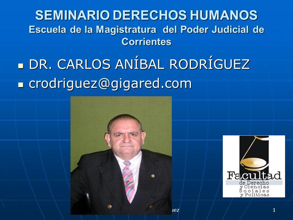 Dr.Carlos Aníbal Rodríguez