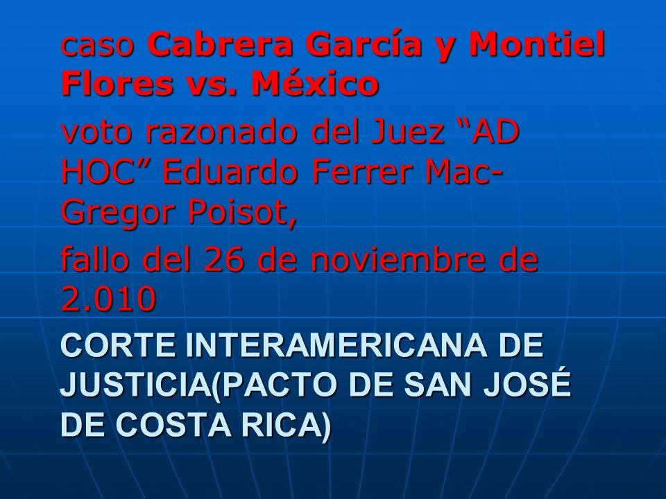 CORTE INTERAMERICANA DE JUSTICIA(PACTO DE SAN JOSÉ DE COSTA RICA)