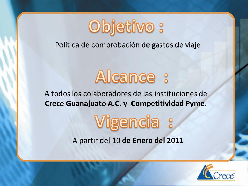Crece Guanajuato A.C. y Competitividad Pyme.