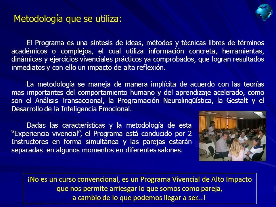 Metodología que se utiliza: