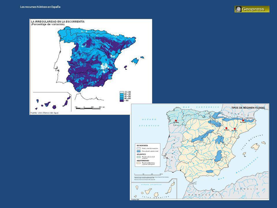 Los recursos hídricos en España