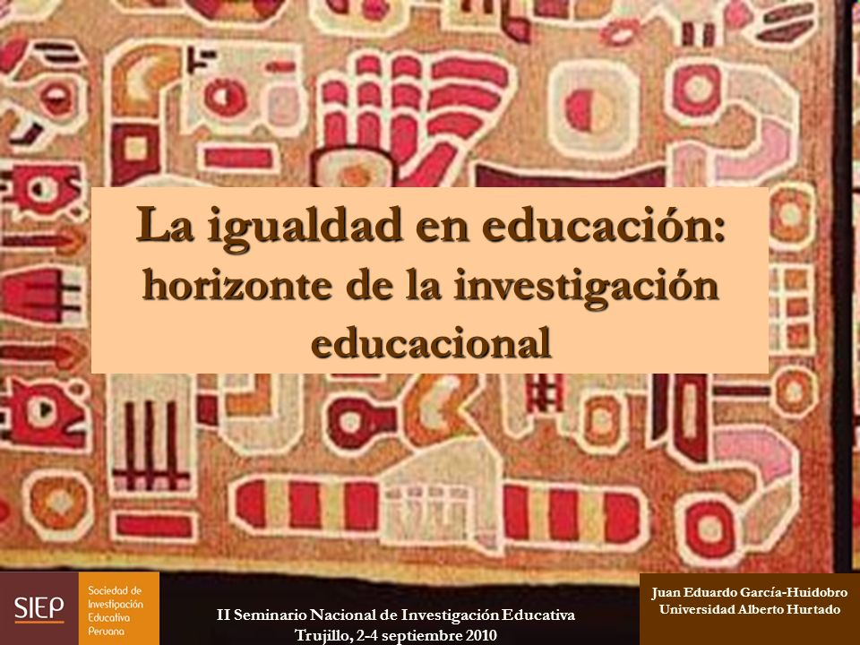 La igualdad en educación: