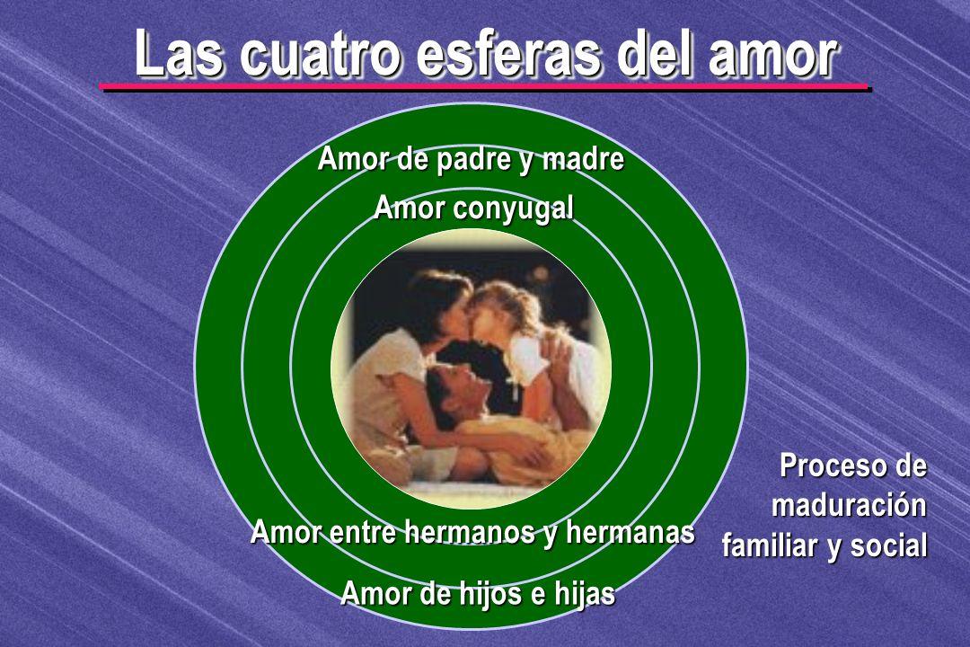 Las cuatro esferas del amor Amor entre hermanos y hermanas