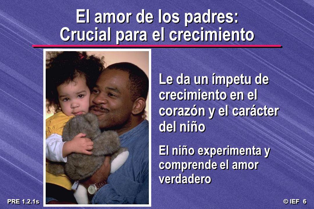 El amor de los padres: Crucial para el crecimiento