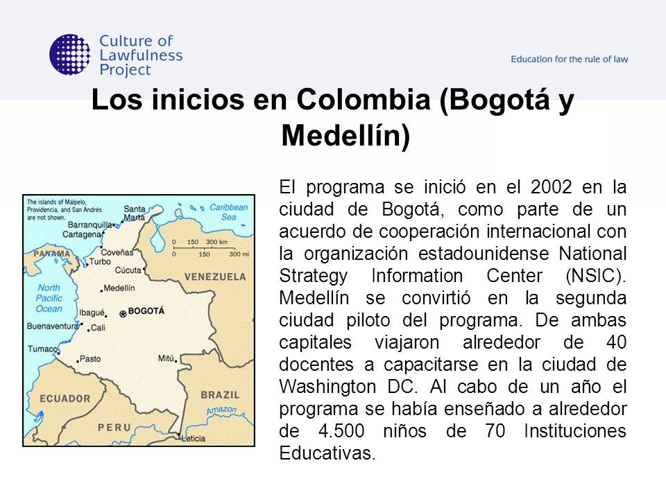 Los inicios en Colombia (Bogotá y Medellín)