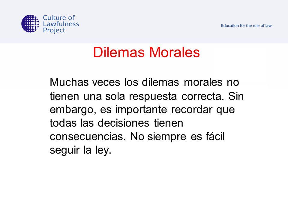 Dilemas Morales