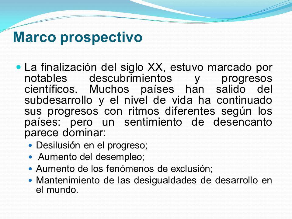 Marco prospectivo
