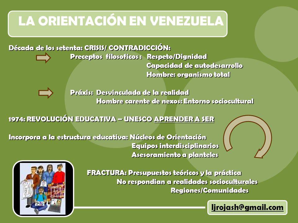 LA ORIENTACIÓN EN VENEZUELA