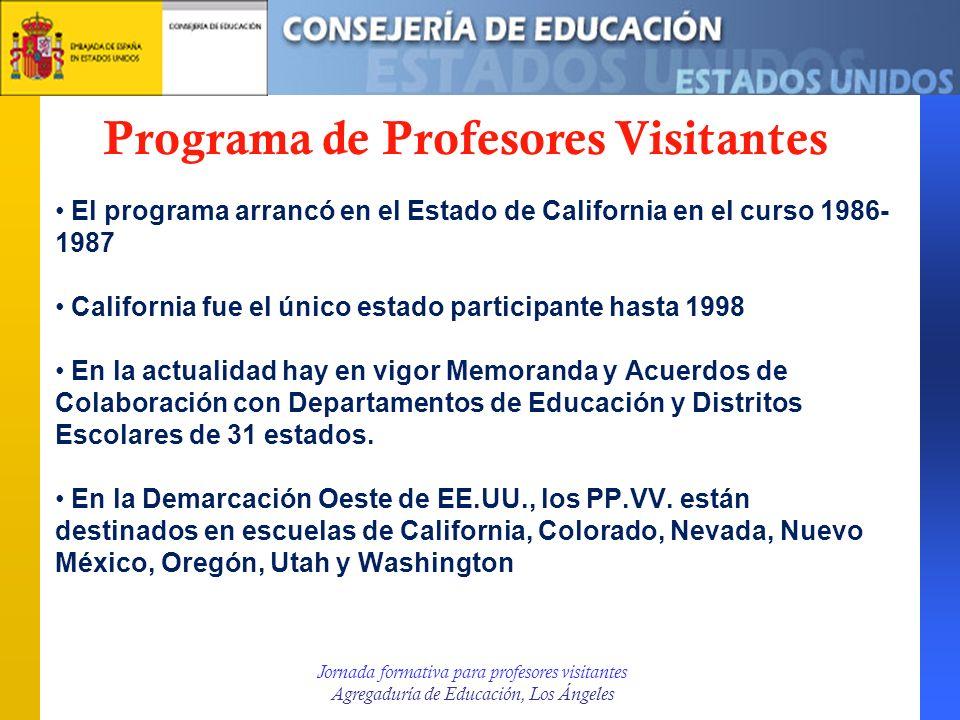 Programa de Profesores Visitantes