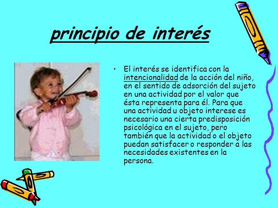 principio de interés