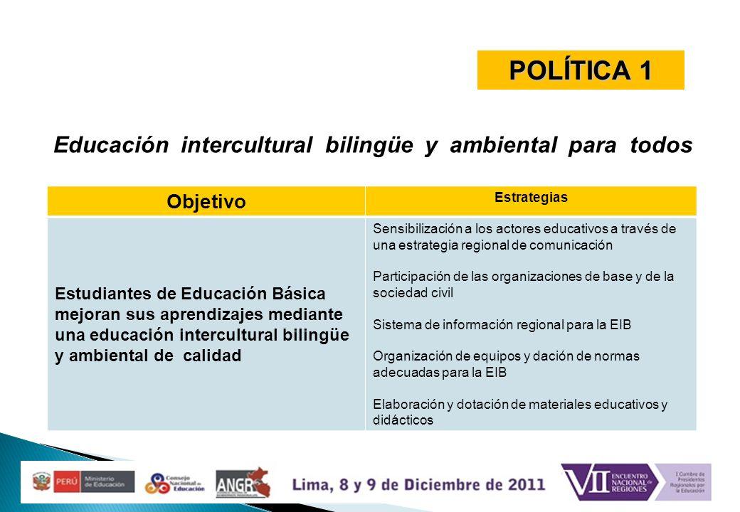 Educación intercultural bilingüe y ambiental para todos