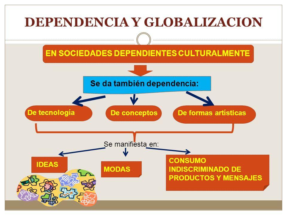 DEPENDENCIA Y GLOBALIZACION