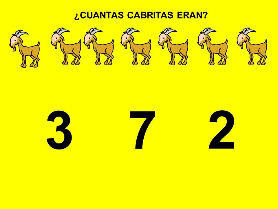 ¿CUANTAS CABRITAS ERAN