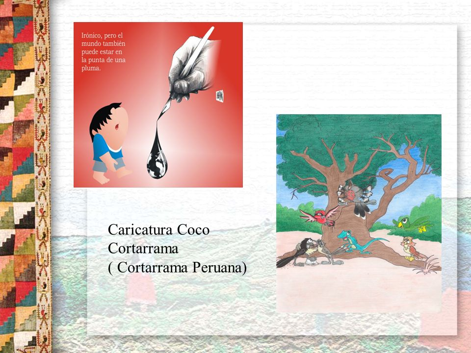 Caricatura Coco Cortarrama