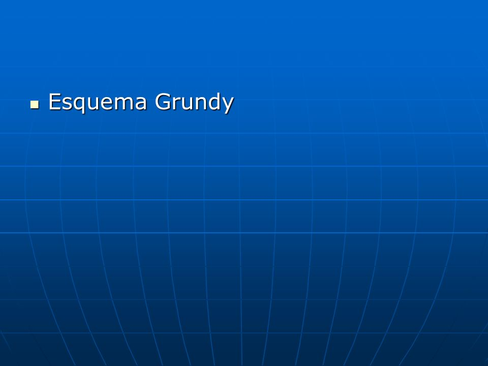 Esquema Grundy