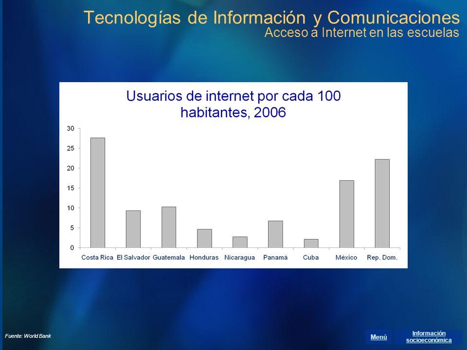 Información socioeconómica