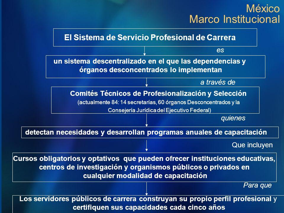 México Marco Institucional