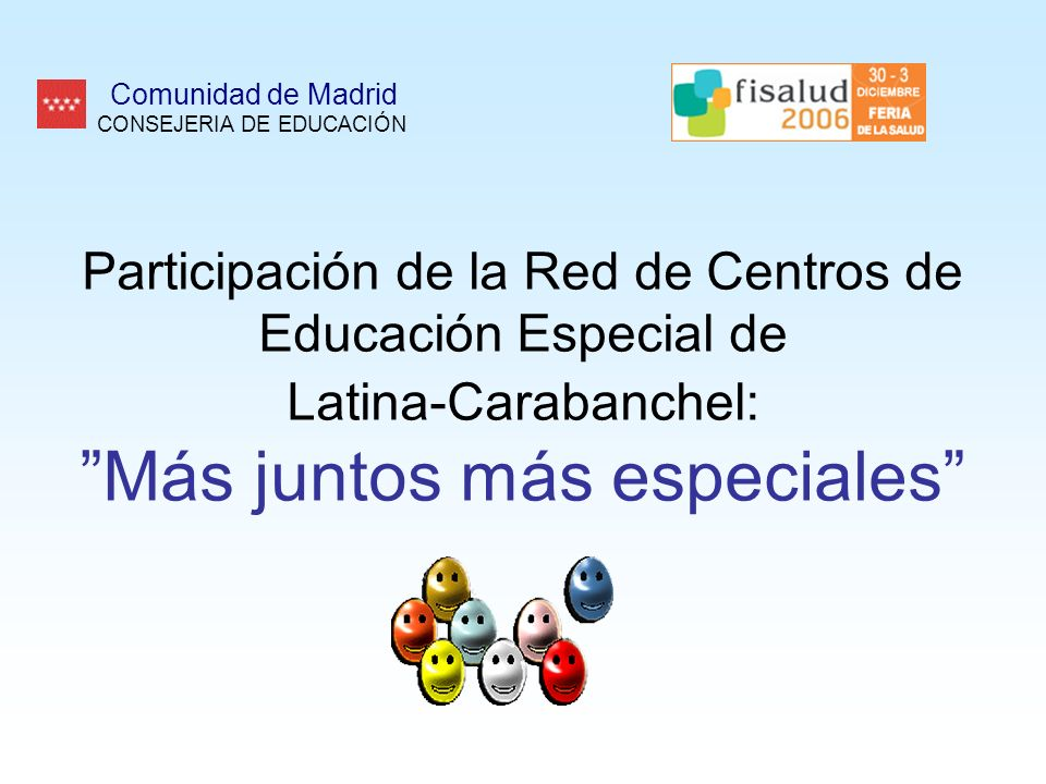 Comunidad de Madrid CONSEJERIA DE EDUCACIÓN.