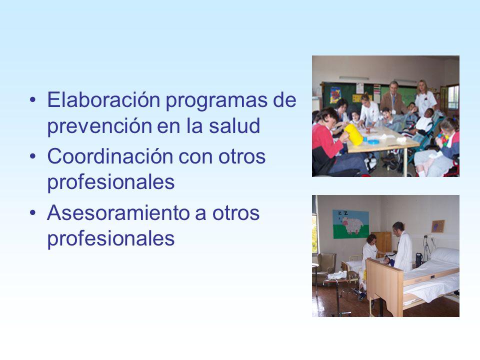 Elaboración programas de prevención en la salud
