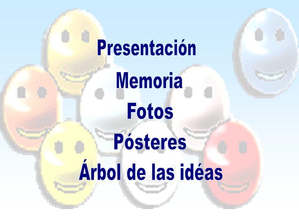 Presentación Memoria Fotos Pósteres Árbol de las idéas
