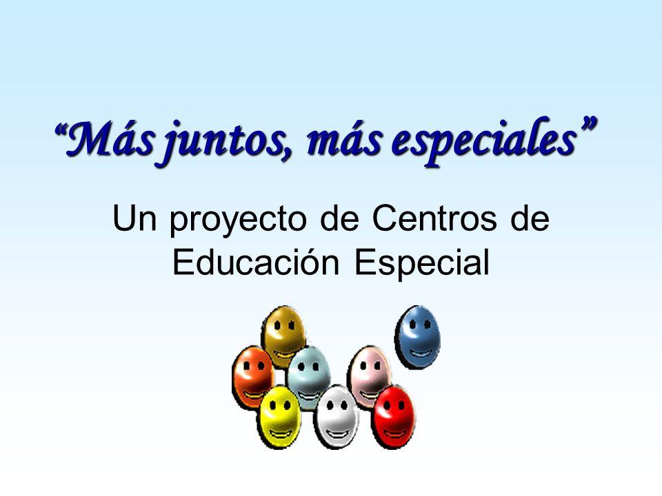 Un proyecto de Centros de Educación Especial