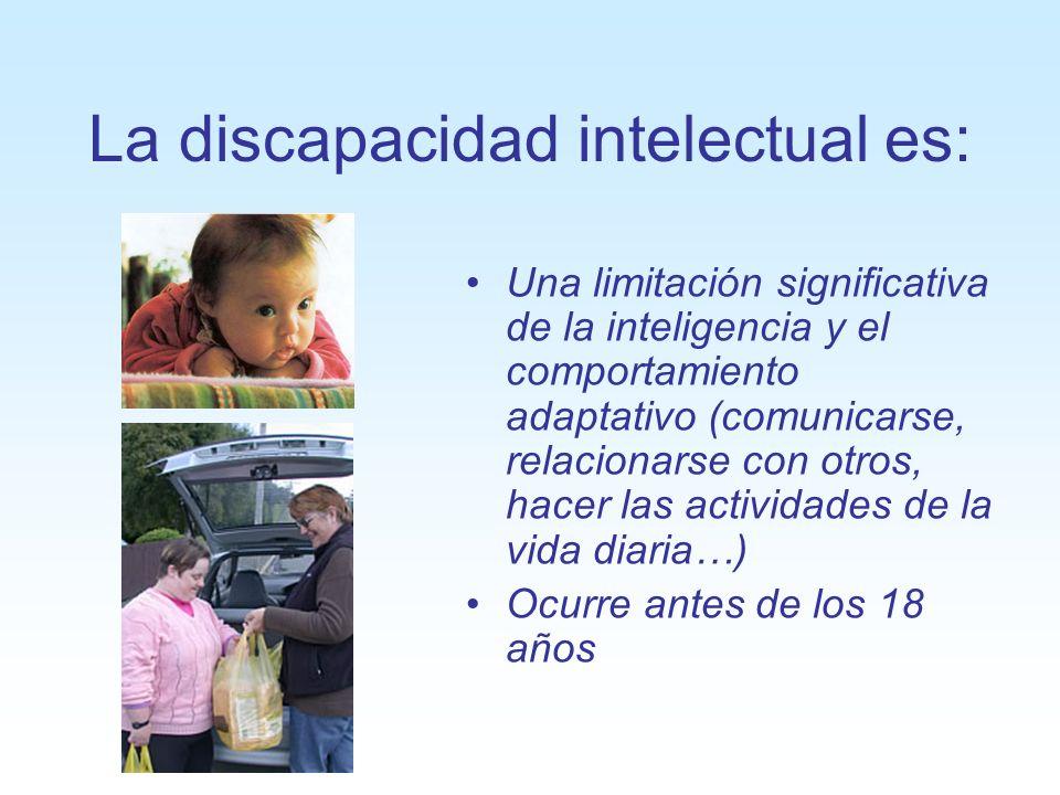 La discapacidad intelectual es:
