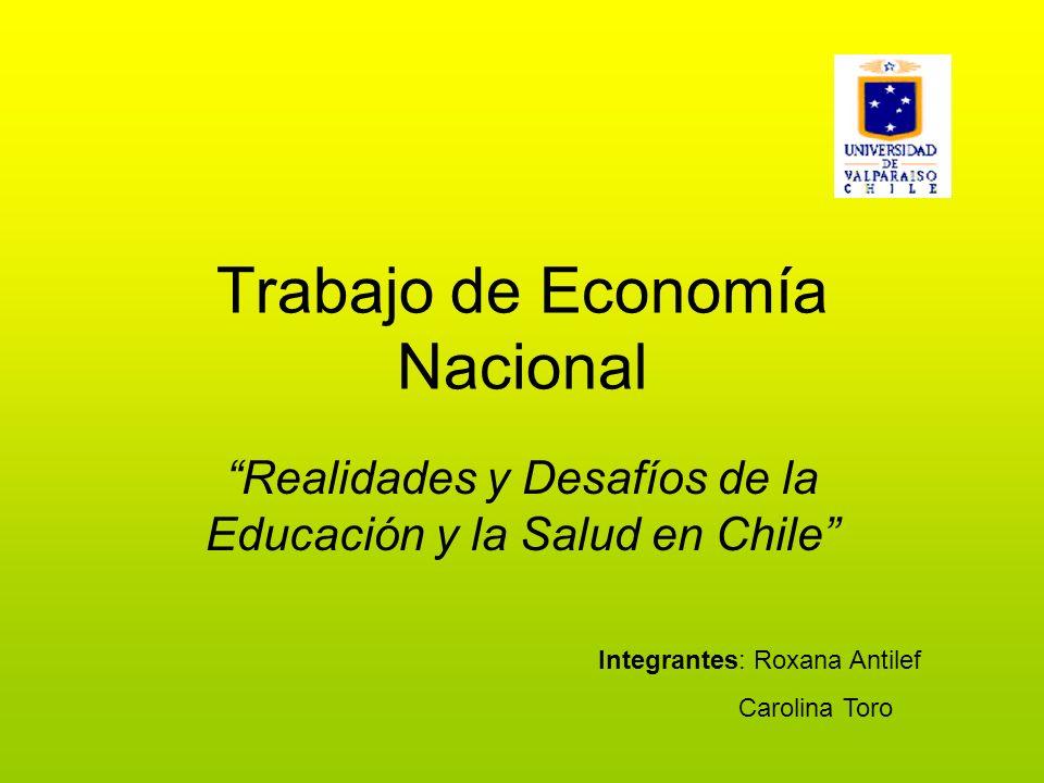Trabajo de Economía Nacional