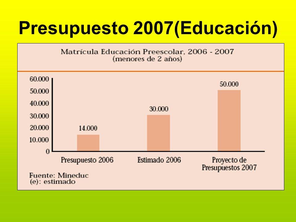 Presupuesto 2007(Educación)