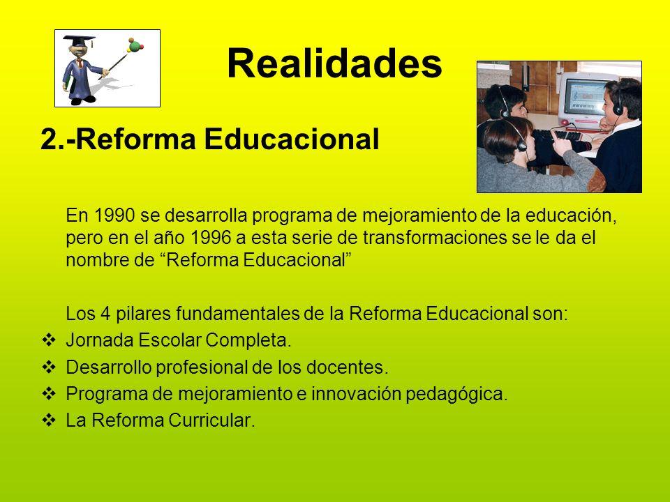 Realidades 2.-Reforma Educacional