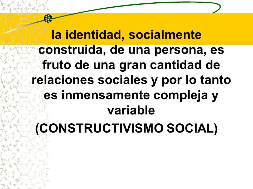 (CONSTRUCTIVISMO SOCIAL)