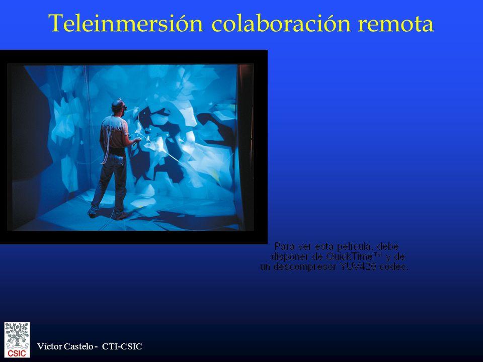 Teleinmersión colaboración remota