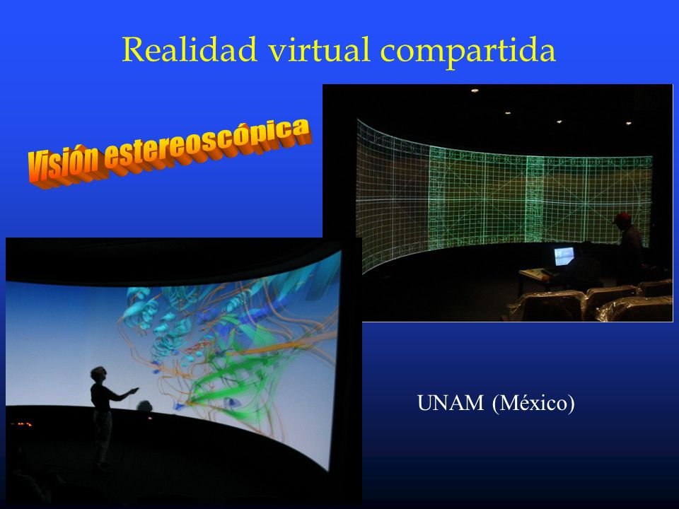 Realidad virtual compartida