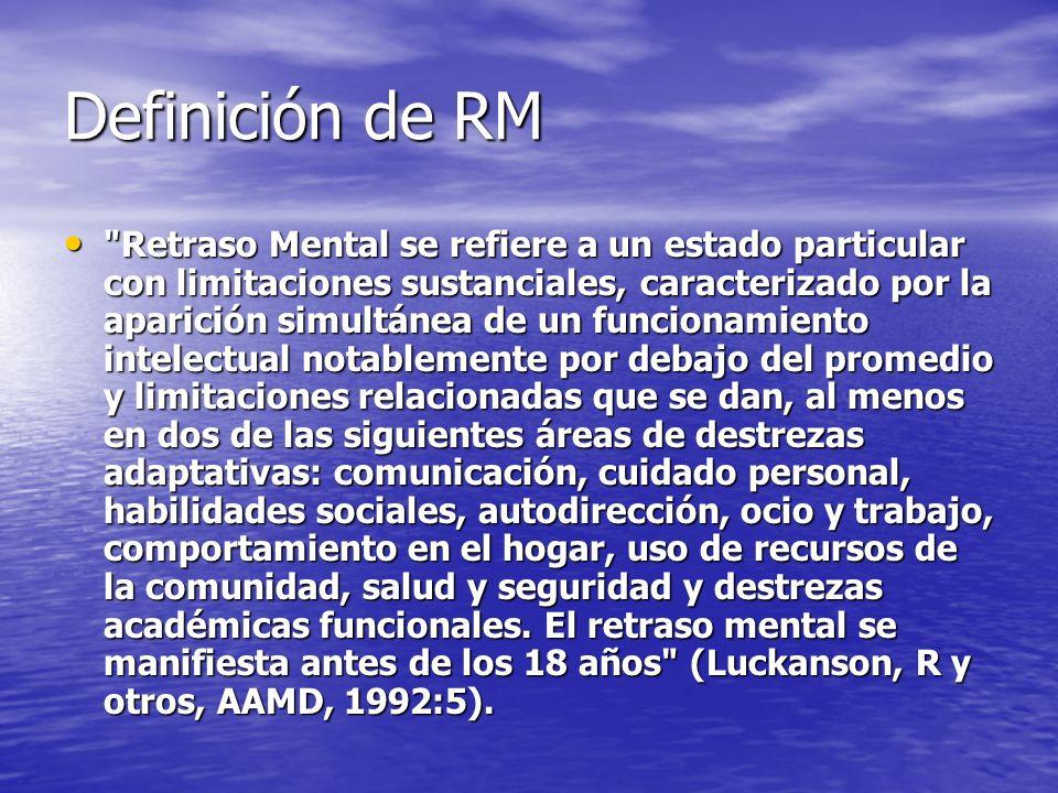 Definición de RM