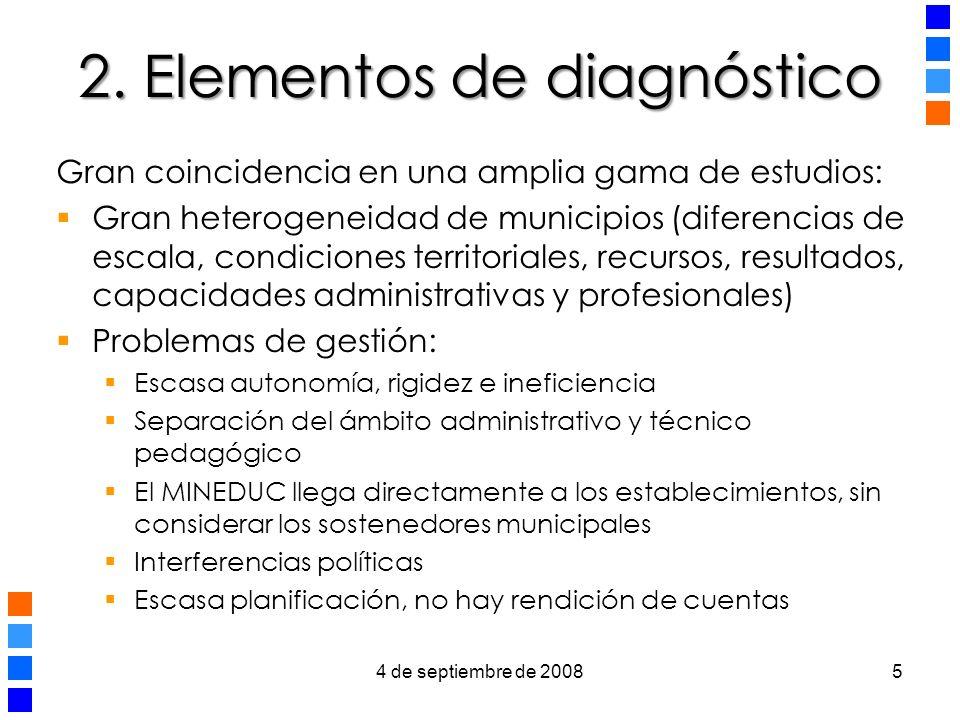 2. Elementos de diagnóstico