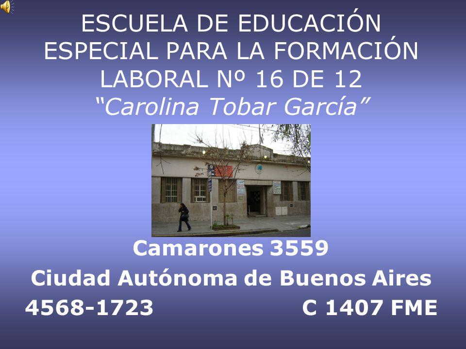 Camarones 3559 Ciudad Autónoma de Buenos Aires 4568-1723 C 1407 FME