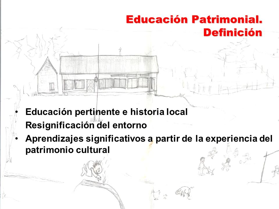 Educación Patrimonial. Definición