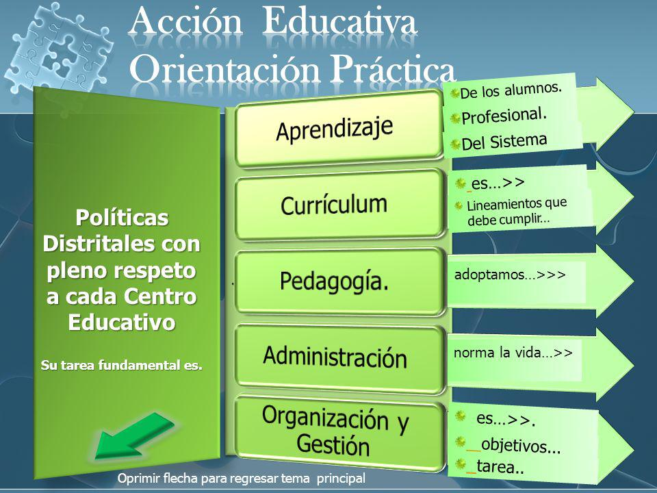 Acción Educativa Orientación Práctica