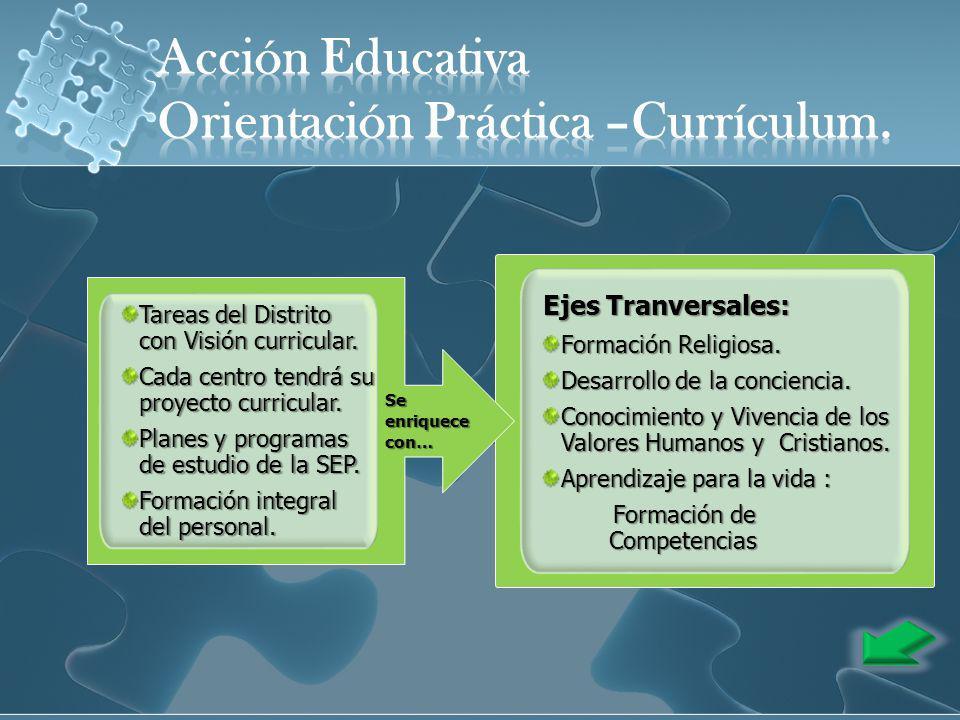 Orientación Práctica –Currículum.