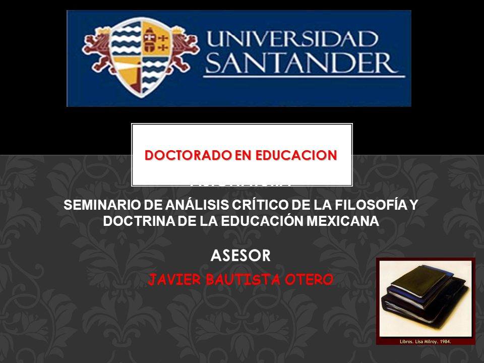 DOCTORADO EN EDUCACION