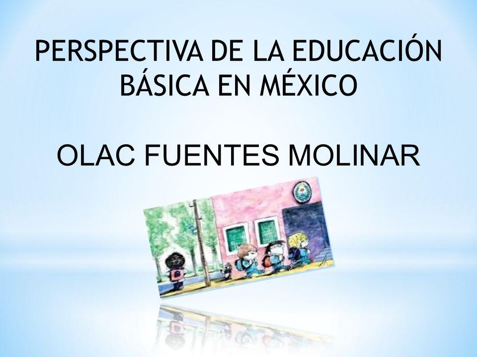 PERSPECTIVA DE LA EDUCACIÓN BÁSICA EN MÉXICO
