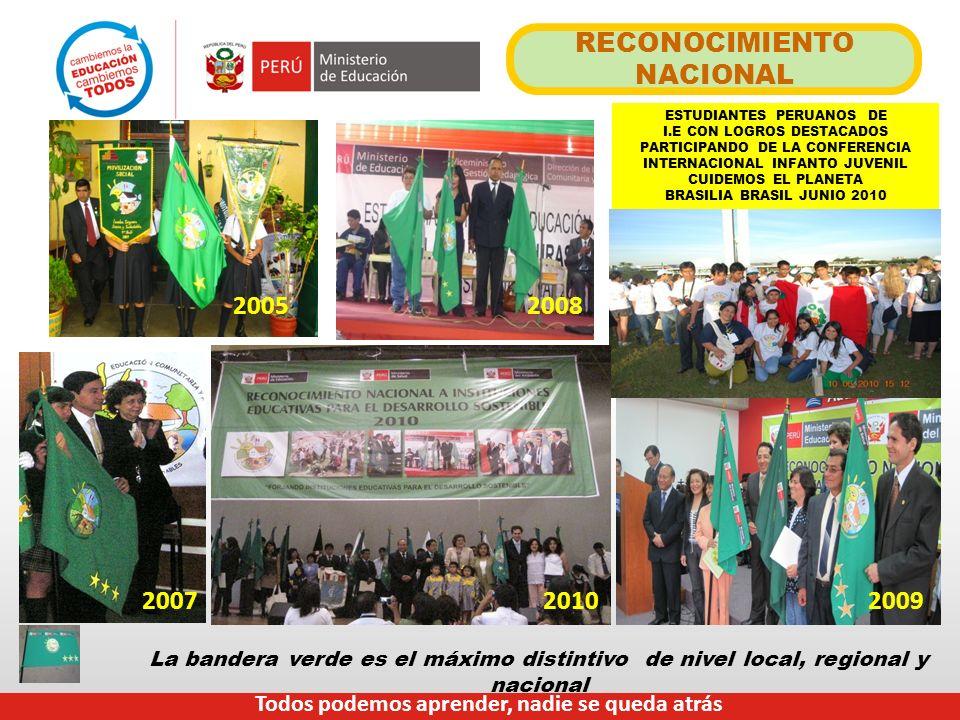 RECONOCIMIENTO NACIONAL ESTUDIANTES PERUANOS DE